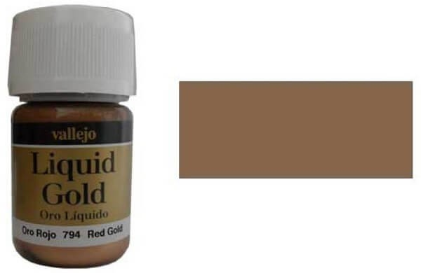 Red Gold 35ml Alcohol Based Paint