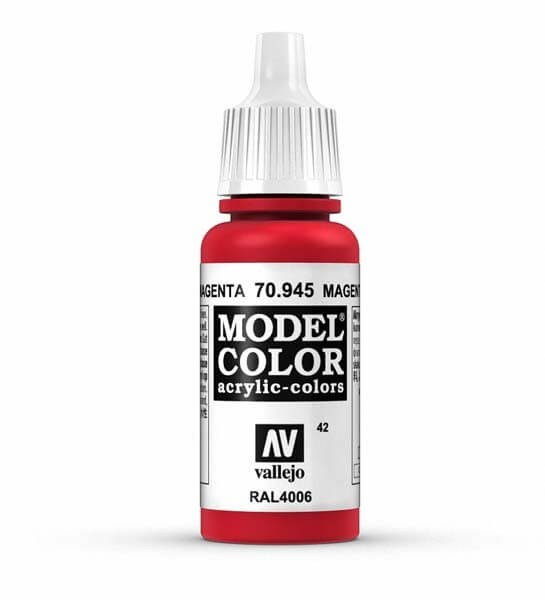 Magenta Model Color 17ml Acrylic Paint