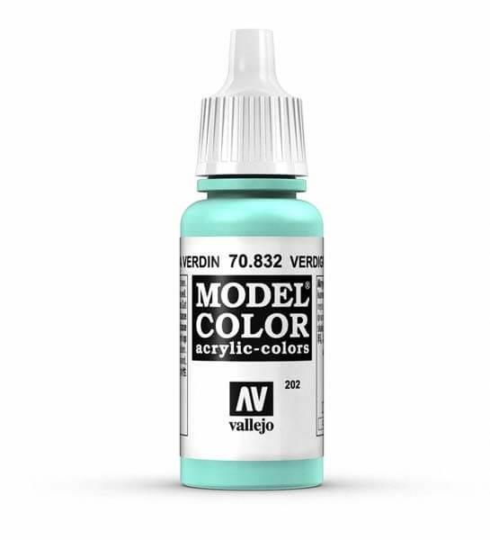 Verdigris Glaze Model Color 17ml Acrylic Paint