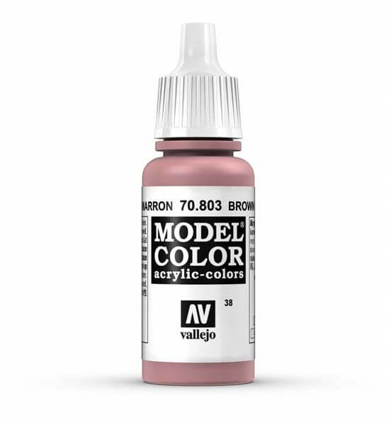 Brown Rose Model Color 17ml Acrylic Paint
