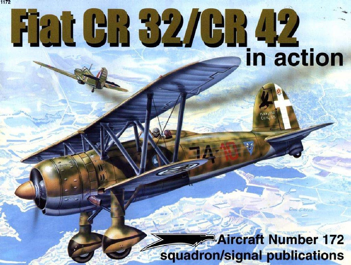 Fiat CR32/CR42 in Action