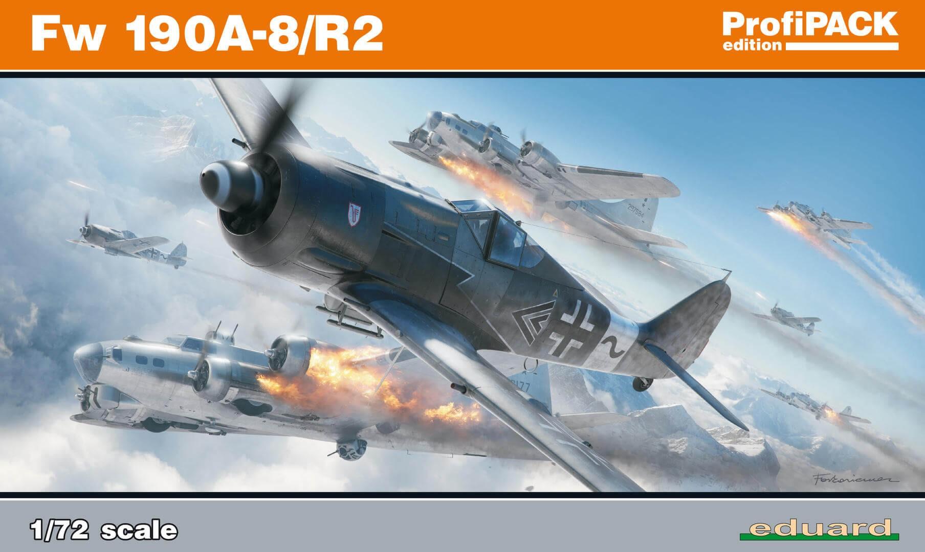 1:72 Fw 190A-8/R-2 ProfiPack Plastic Model Kit