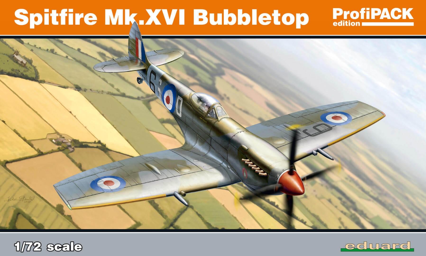 1:72 Spitfire Mk.XVI ProfiPACK Plastic Model Kit