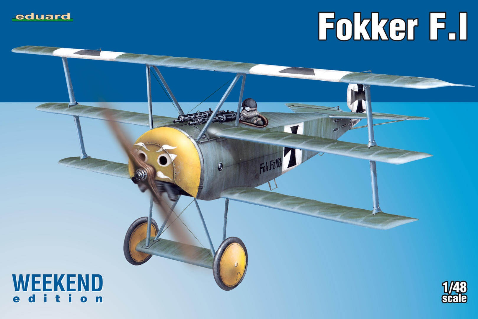 1:48 Fokker F.I Weekend Edition Plastic Model Kit