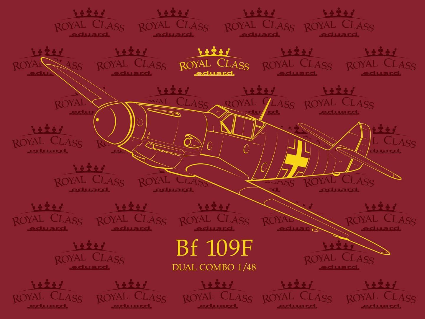 1:48 Messerschmitt Bf109F Dual Combo Model Kit