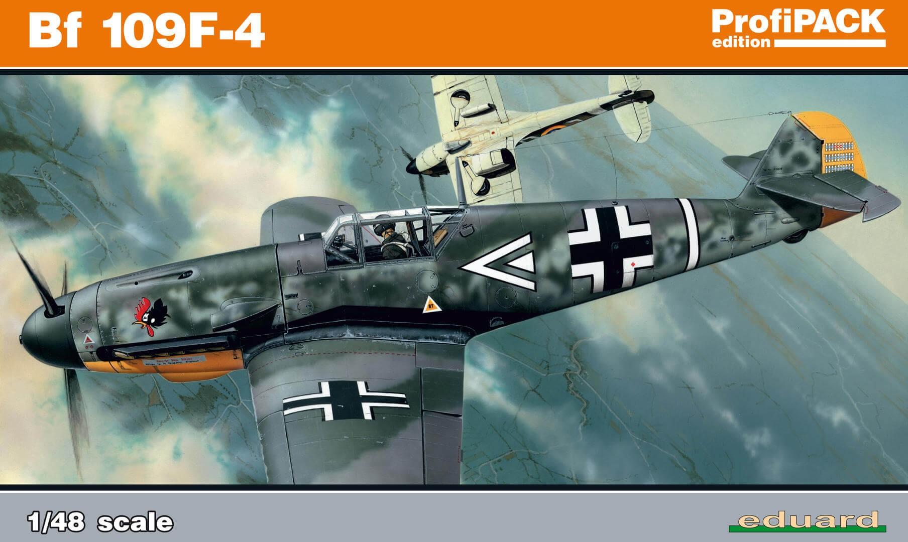 1:48 Messerschmitt Bf 109F-4 ProfiPACK Plastic Model Kit