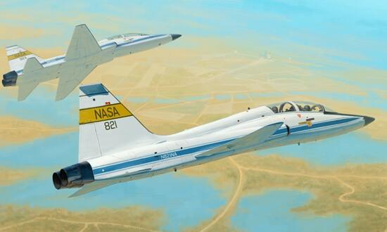 1/48 USAF T-38C NASA Trainer Plastic Model Kit