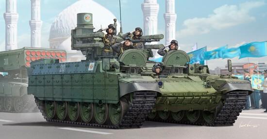 1/35 Kazakhstan BMPT Armored Vehicle Plastic Model Kit