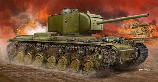 1/35 KV-220 Russian Super Heavy Tank Plastic Model Kit