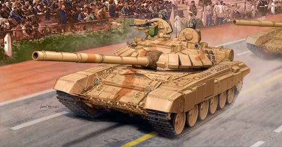 1/35 Indian T-90S Main Battle Tank Plastic Model Kit