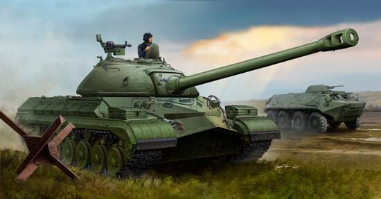 1/35 T-10 Heavy Soviet Tank Plastic Model Kit