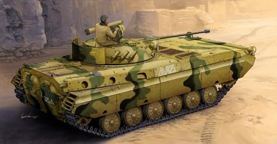 1/35 Russian BMP-2D Infantry Fighting Vehicle Plastic Model Kit