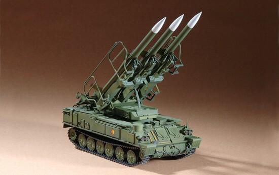 1/72 Russian SAM-6 Anti-Aircraft Missile Plastic Model Kit