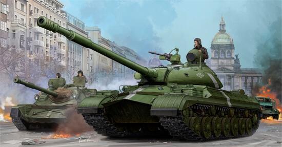 1/35 T-10M Heavy Soviet Tank Plastic Model Kit
