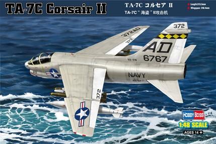 1/48 TA-7C Corsair II Aircraft Plastic Model Kit