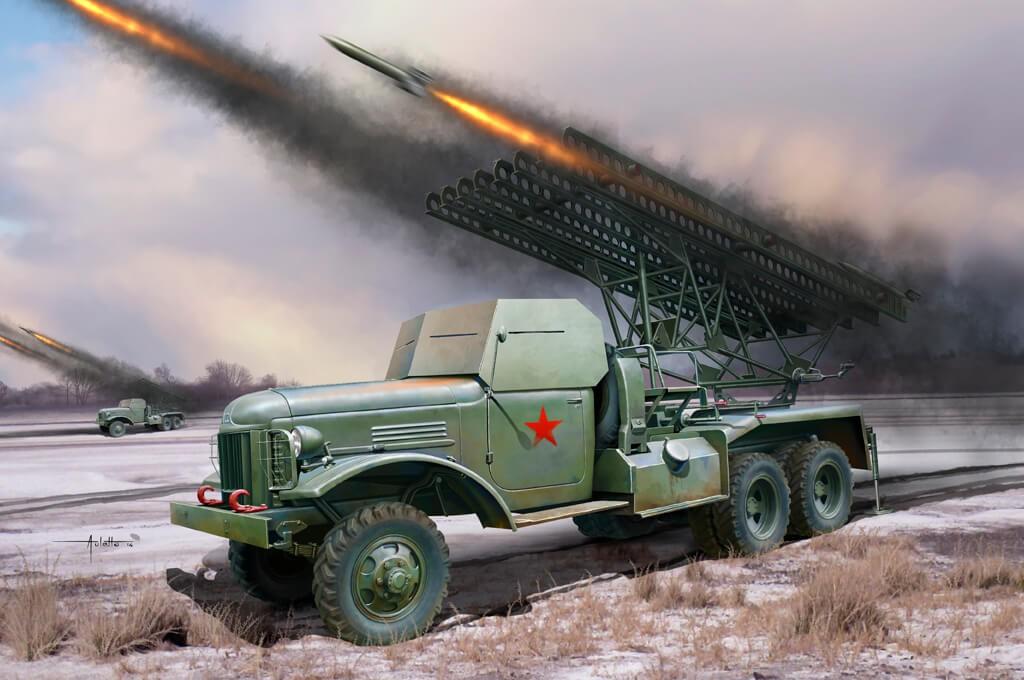 1/35 Russian BM-13 Plastic Model Kit