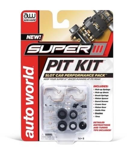 Auto World Super III Slot Car Pit Kit