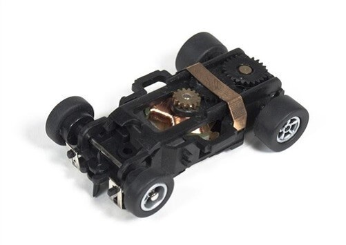 Auto World Xtraction Ultra-G Built Slot Car Chassis PSCXT-028