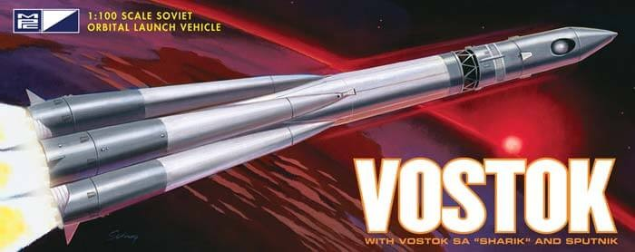 MPC 1/100 Vostok Rocket Plastic Model Kit