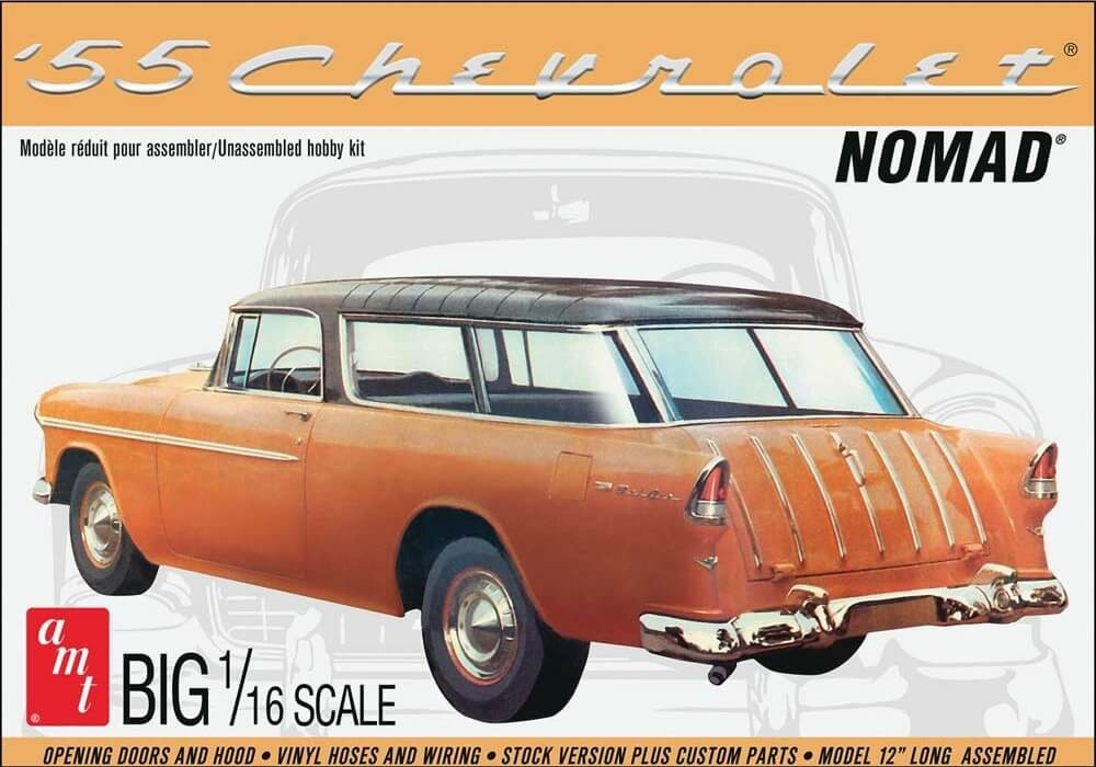 AMT 1/16 1955 Chevy Nomad Plastic Model Kit