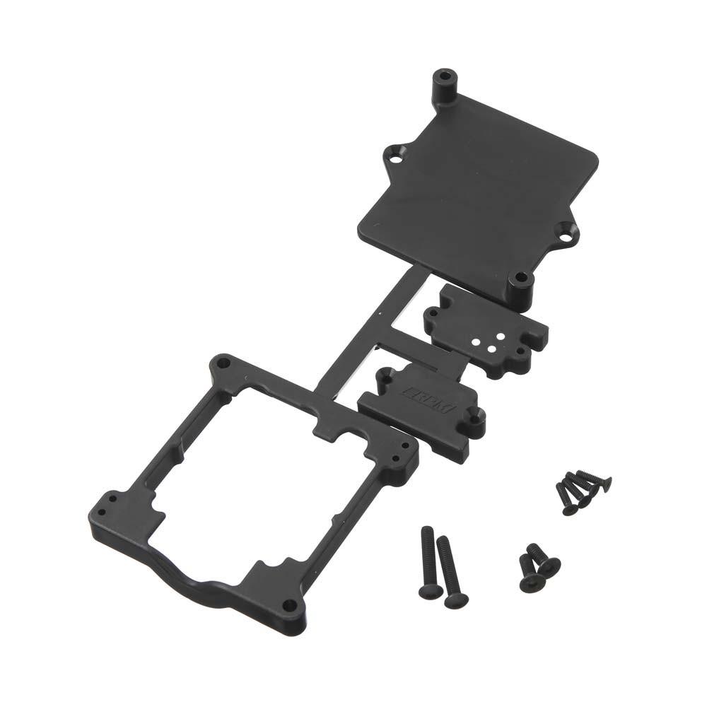 RPM Black ESC Cage for Sidewinder 3/Sidewinder SCT ESC