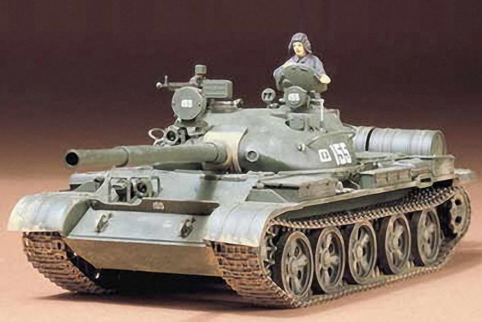 Tamiya 1:35 Russian T-62A Tank Plastic Model Kit