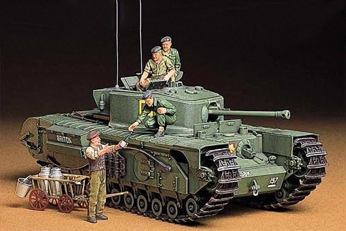 1:35 British Infantry Tank MK. Plastic Model Kit