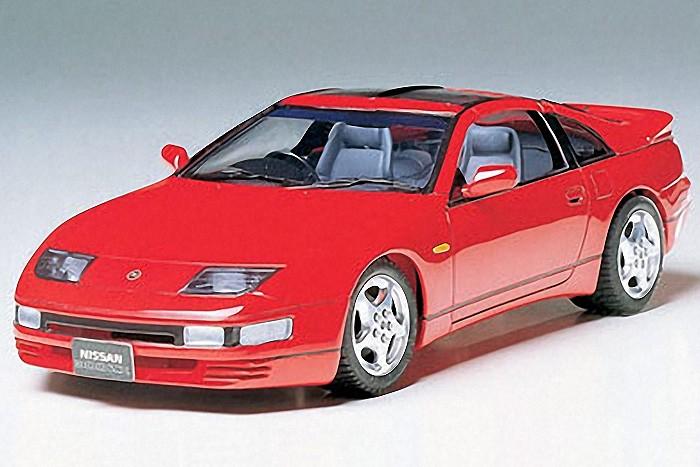 1:24 Nissan 300ZX Turbo Plastic Model Kit