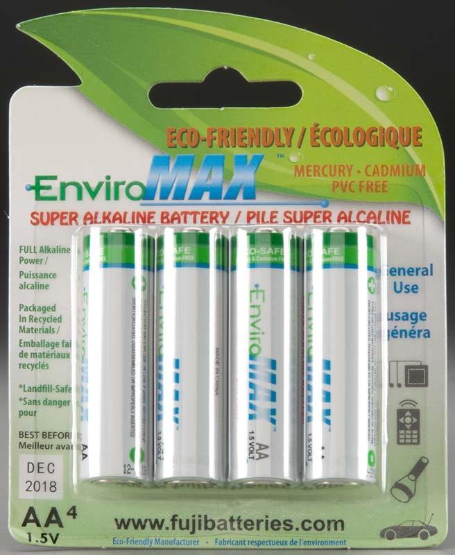 AA Alkaline Batteries (4)