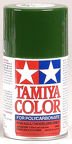 Tamiya PS-9 Green Poly-carbonate Spray Paint