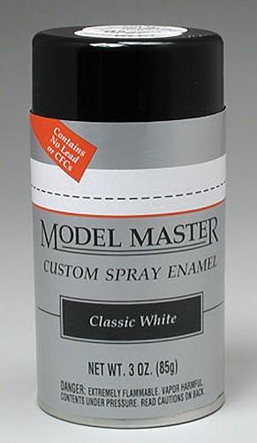 Classic White 3oz Enamel Spray Paint