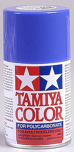 Tamiya PS-35 Blue Violet Poly-carbonate Spray Paint