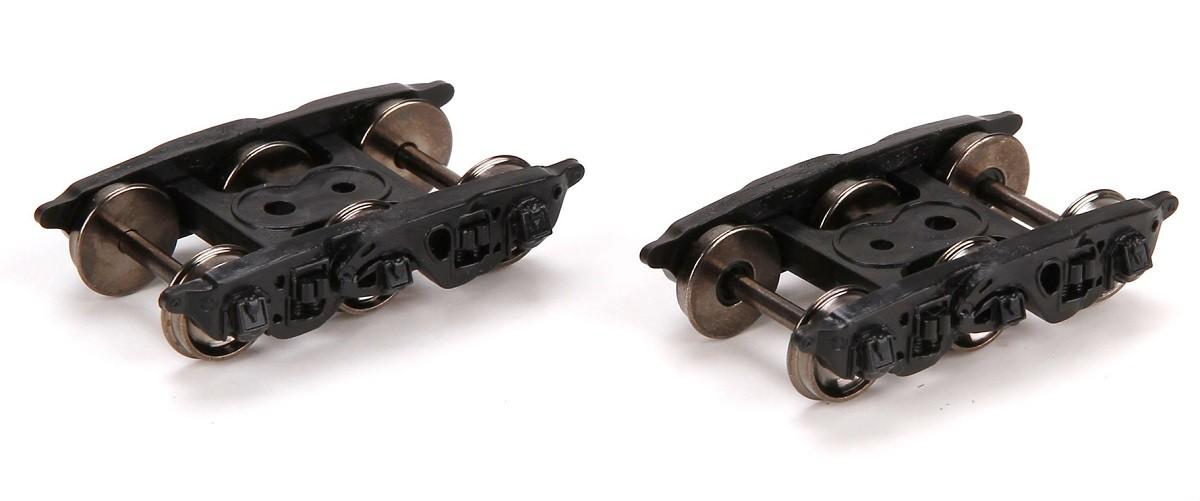 HO Buckeye Trucks w/ 36 Metal Wheels (1 Pair)