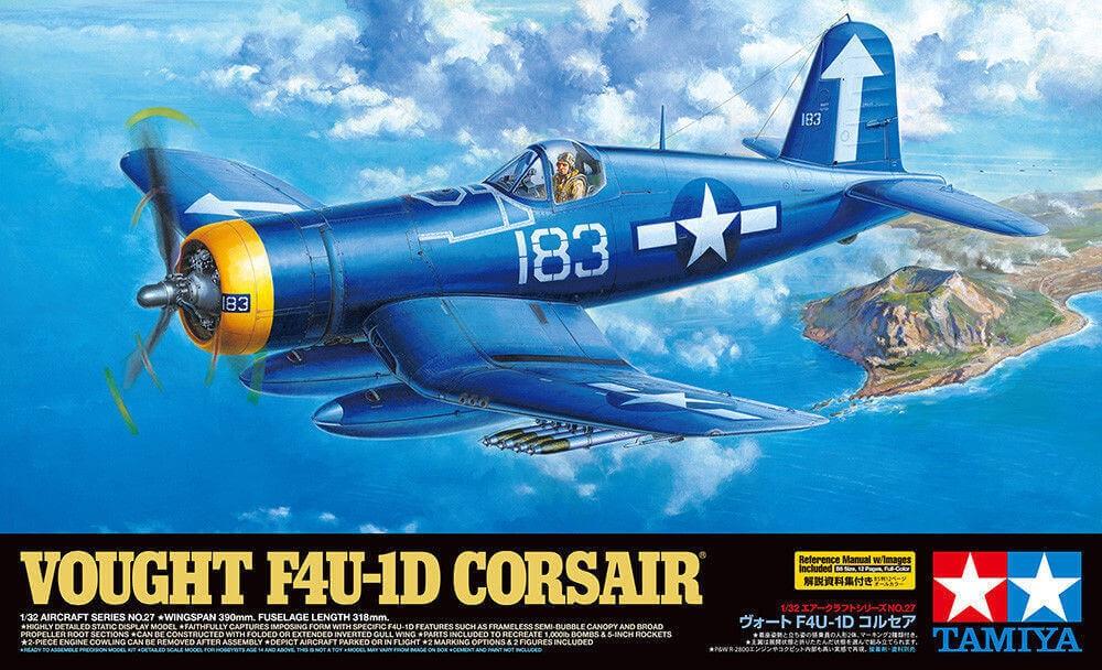 1/32 Vought F4U-1D Corsair Plastic Model Kit