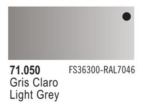 Light Grey Model Air Color 17ml Bottle Paint