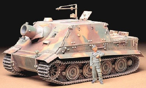 Tamiya 1/35 German Assault Mortar-Sturmtiger Plastic Model Kit