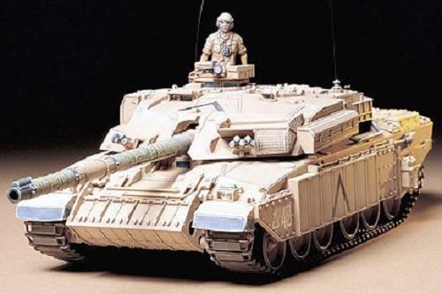 1:35 British MBT Challenger I Plastic Model Kit