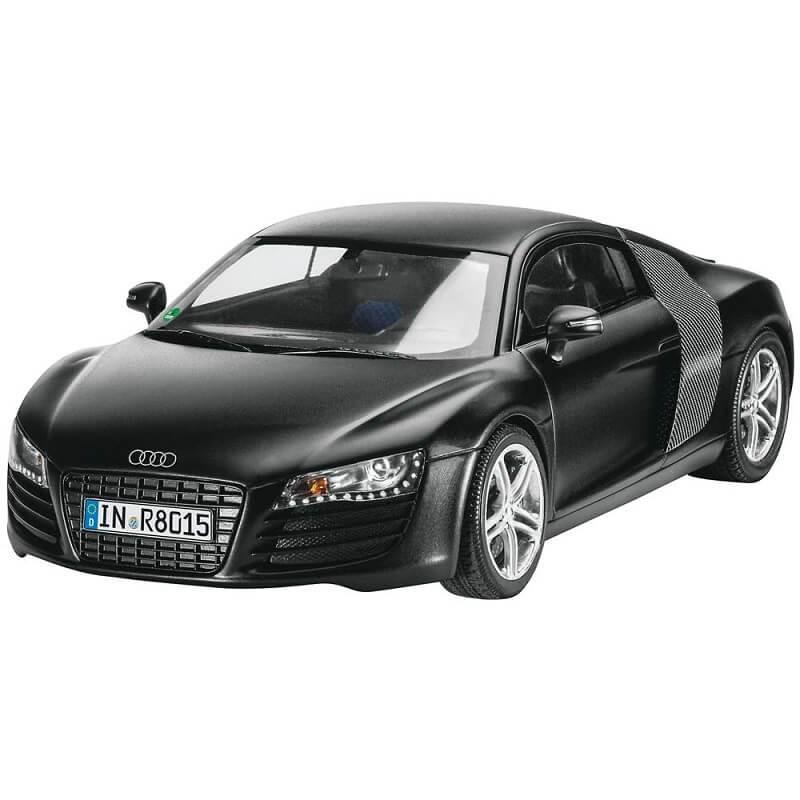 Audi R8 Ebay: 1:24 Audi R8 Black Plastic Model Kit