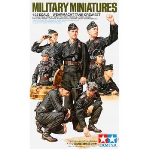 1/35 Wehrmacht Tank Crew Plastic Figure Set