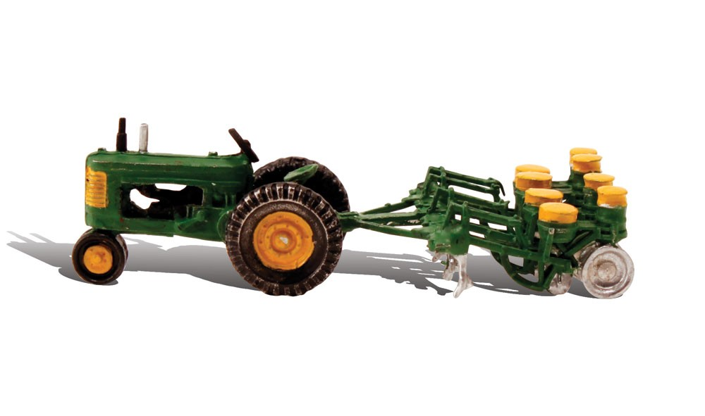 HO Tractor & Planter