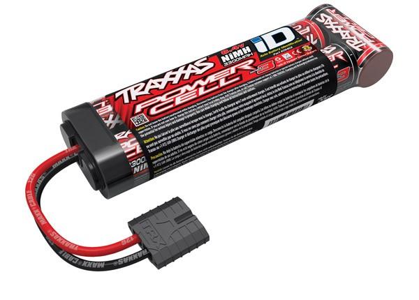 Traxxas 3300mAh NiMh 8.4v 7-Cell Battery ID Plug