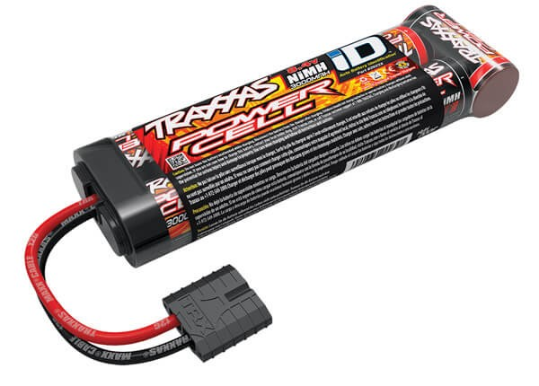 3000mAh 8.4v 7 Cell NiMh Stick Battery w/Traxxas ID