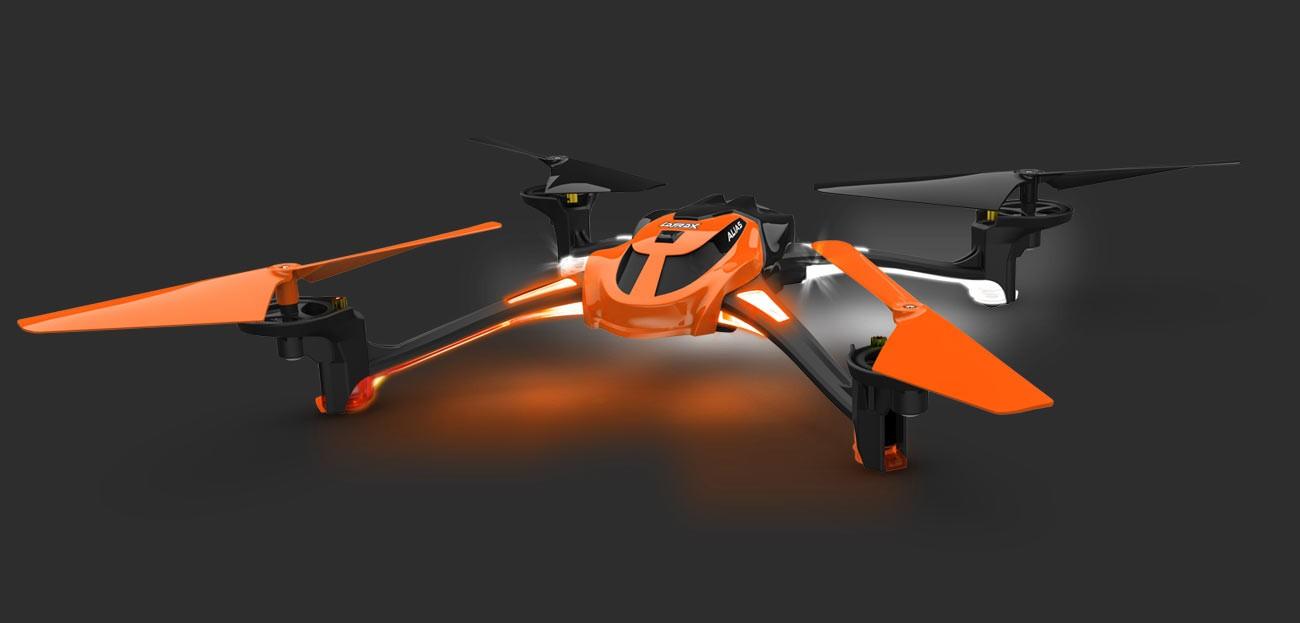 Alias Quad Rotor Heli RTF Orange