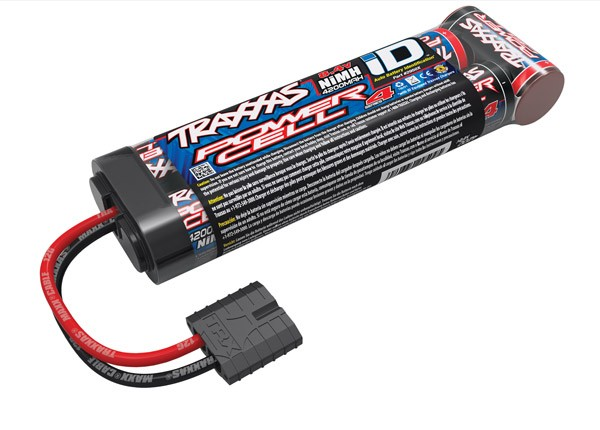 Series 4 4200mAh 8.4v 7 Cell NiMh Battery ID Plug