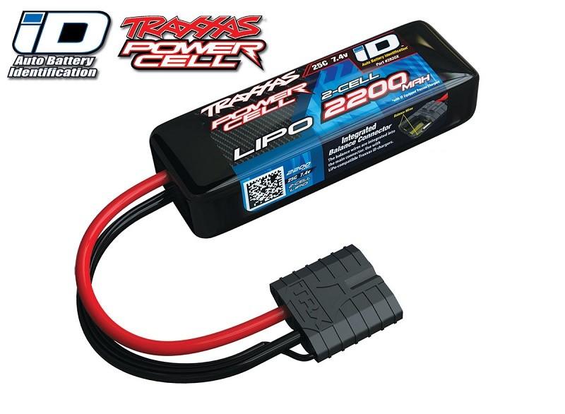Traxxas 2200mAh 7.4v 25C LiPo Battery Pack w/Traxxas ID