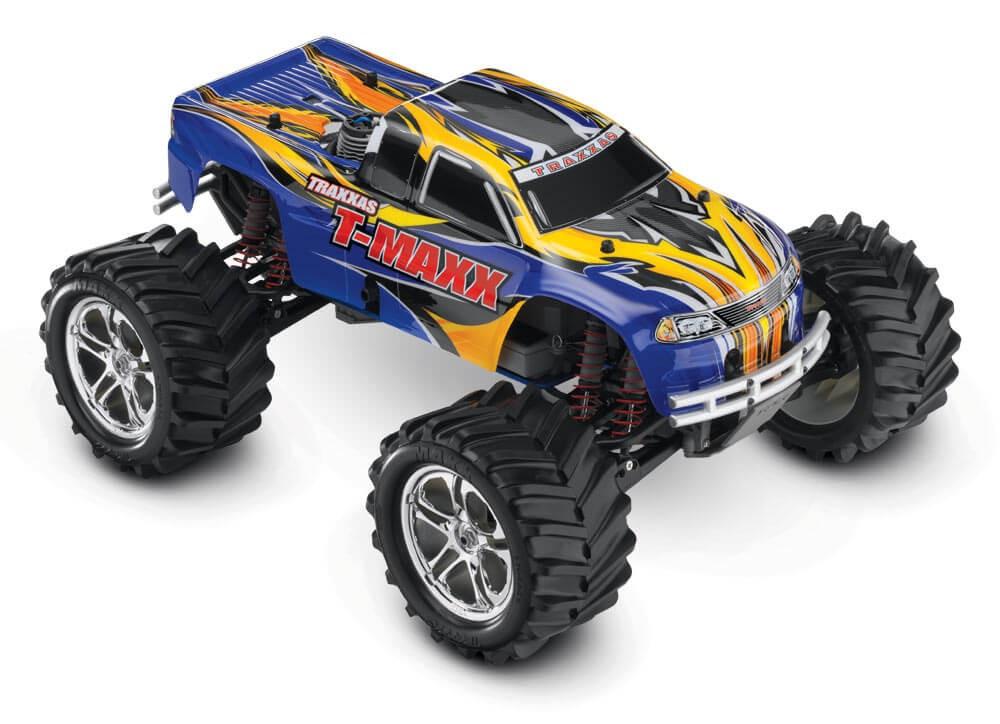 4WD Nitro T-Maxx 2.4GHz Blue