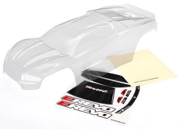 Traxxas E-Revo 2 Clear Body