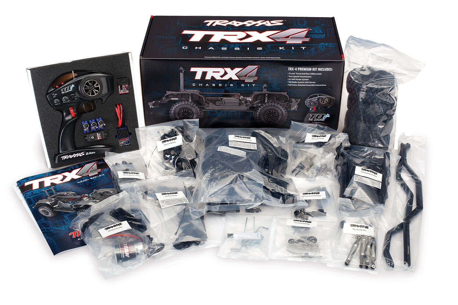 Traxxas TRX-4 1/10 Scale Crawler RC Assembly Kit