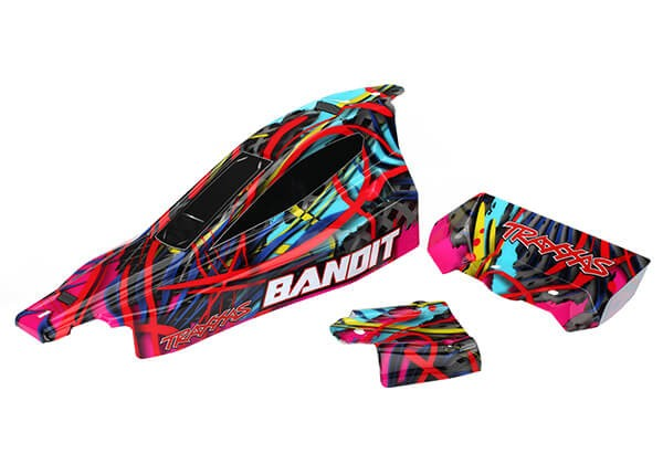 Bandit Painted Hawaiian Body