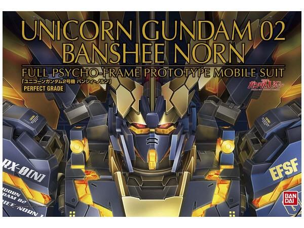 Bandai PG 1:60 Unicorn Gundam 02 Banshee Norn Plastic Model Kit